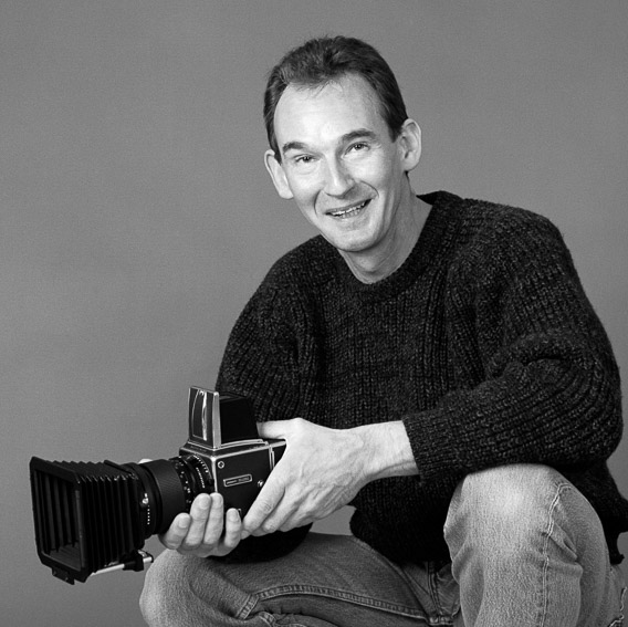 John Wood with Hasselblad Camera